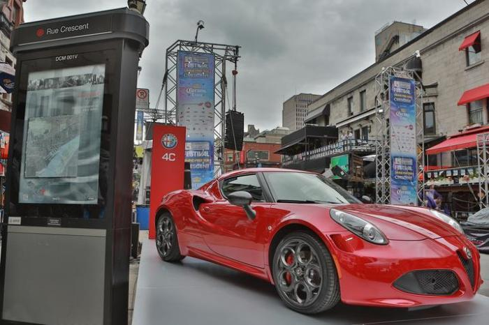 The all-new 2015 Alfa Romeo 4C makes its highly anticipated Canadian debut at the 15th annual Crescent Street Grand Prix Festival, during the Grand Prix du Canada weekend in Montreal, June 5-8, 2014.